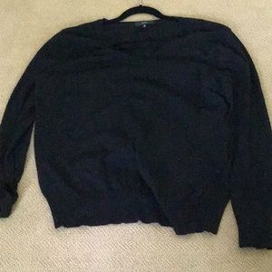Mossimo size 4 black sweater